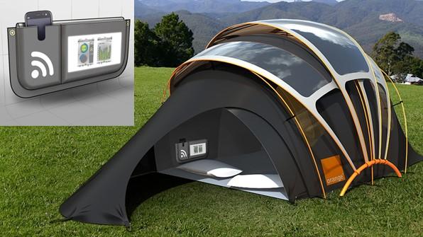 چادر خورشیدی قابل حمل