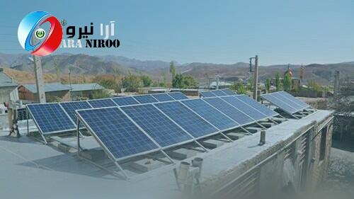 احداث ۴۲ نیروگاه خورشیدی خانگی