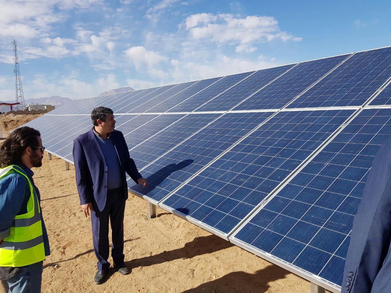 طراحی یک نیروگاه خورشیدی در منطقه شهریار