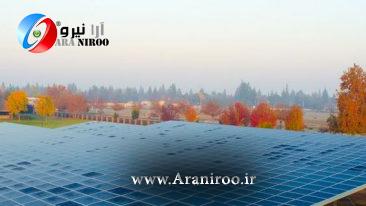 نیروگاه خورشیدی تجاری