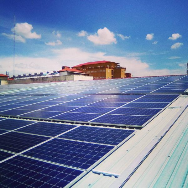 370KW installation in PP Cambodia
