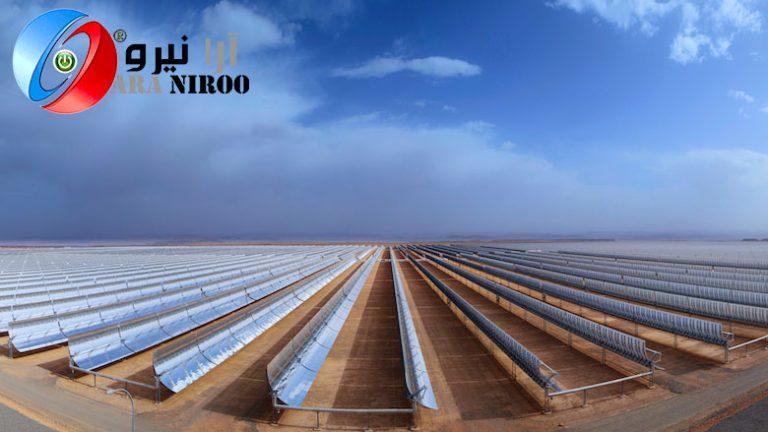 نیروگاه-خورشیدی-حرارتی-از-انرژی-خورشیدی-متمرکز-استفاده-می-کنند