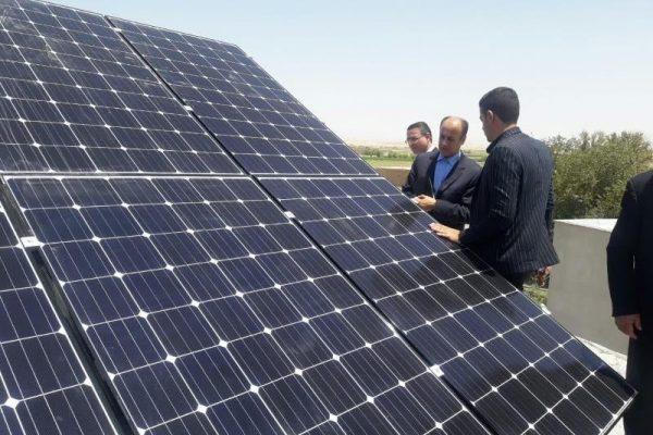 نیروگاه خورشیدی هیبریدی در مازندران