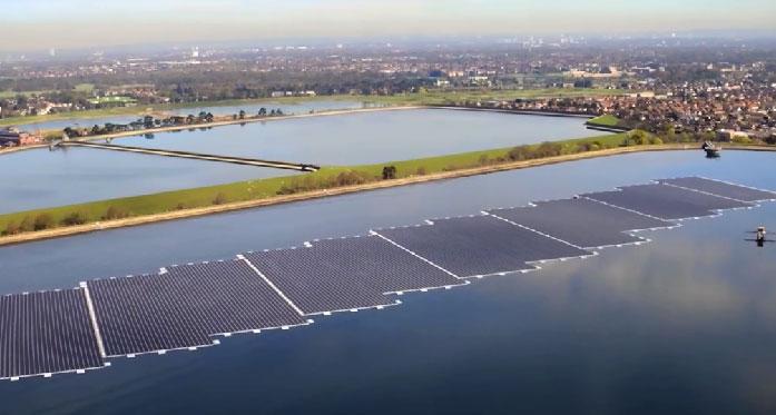 تحقیقات در مورد پنل های خورشیدی در سطح دریا