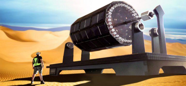 انرژی خورشیدی / موتور