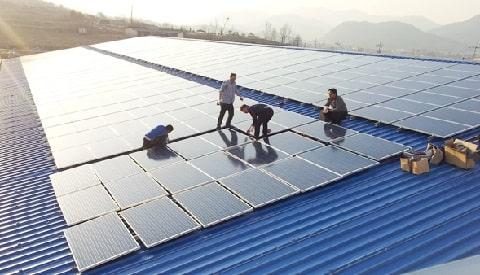 مشخصات نیروگاه خورشیدی متصل به شبکه 100 کیلووات: