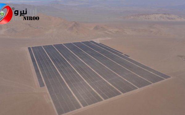 بزرگترین نیروگاه خورشیدی ایران