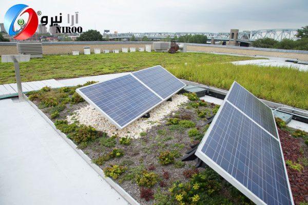 سقف-های-سبز-کارایی-پنل-خورشیدی-را-بهبود-می-بخشد