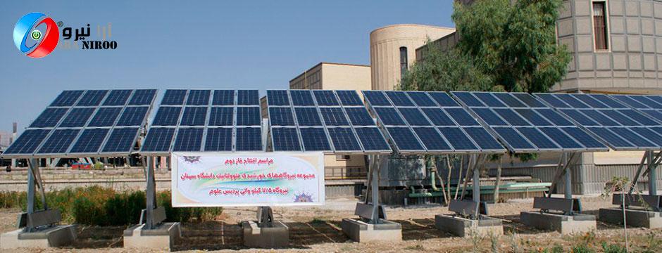 ارتقاء نیروگاه خورشیدی، شرکت برق سمنان