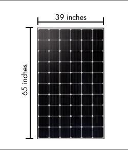 اندازه-و-وزن-پنل-خورشیدی-چقدر-است-؟