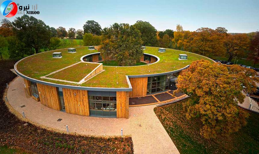 بام سبز یا سقف سبز