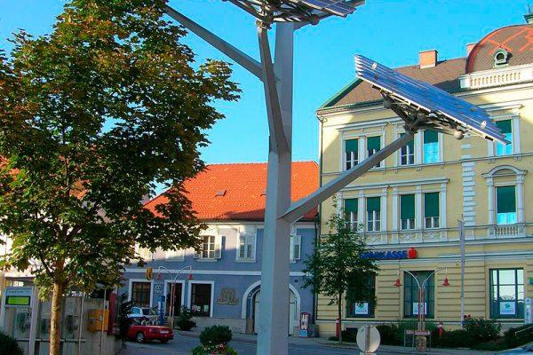 درخت خورشیدی در اتریش