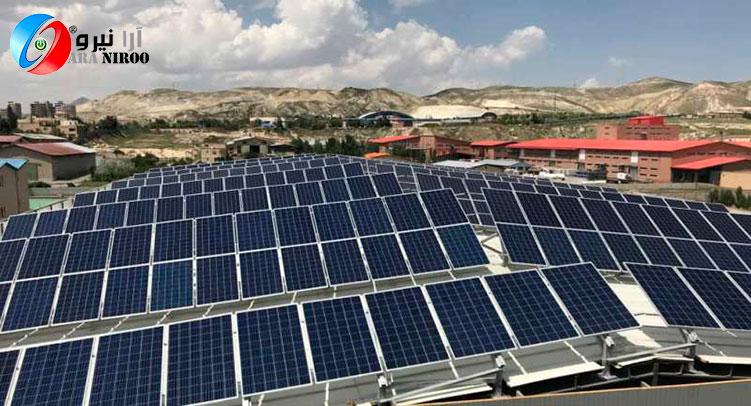 نیروگاه خورشیدی در تبریز