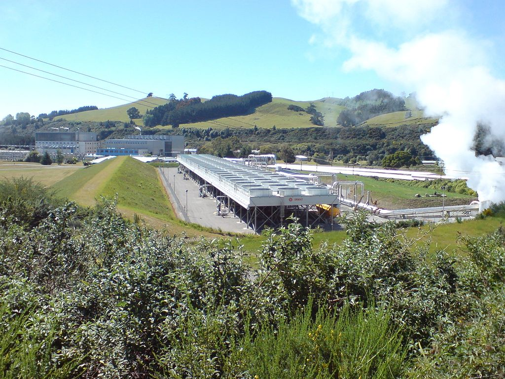 نیروگاه زمینگرمایی وایراکی در نیوزیلند
