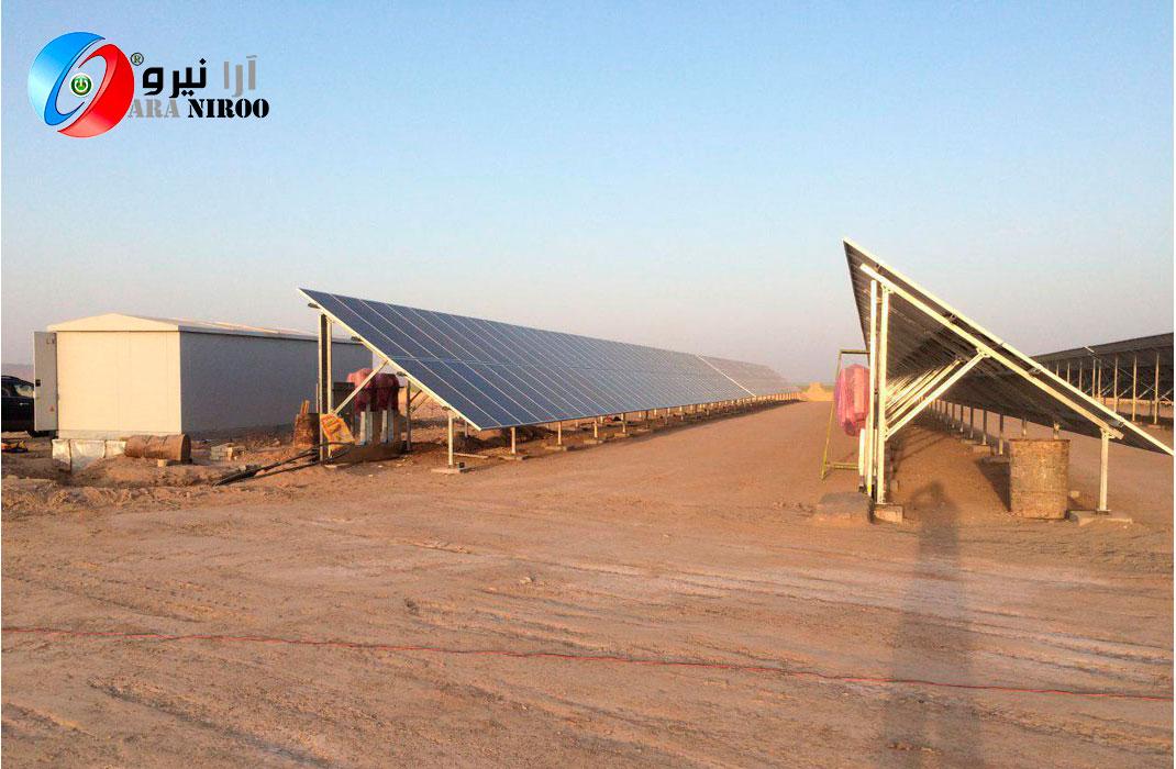 نیروگاه خورشیدی اراک