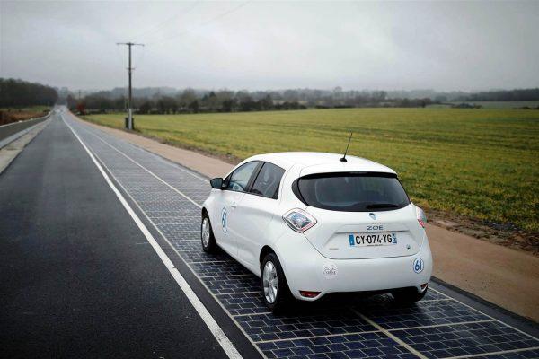 اولین جاده خورشیدی جهان در فرانسه
