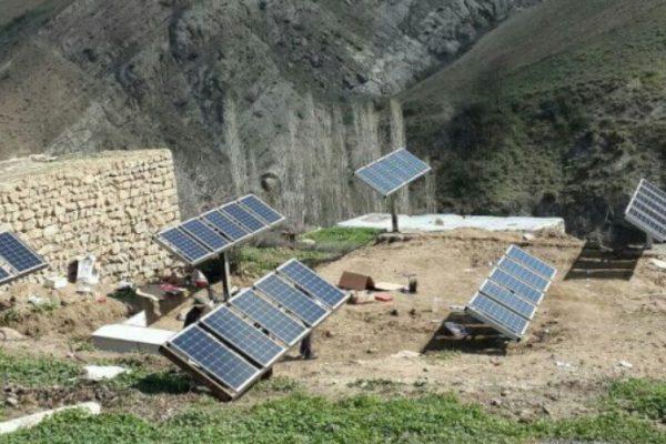 نیروگاه خورشیدی در مناطق دور افتاده لرستان