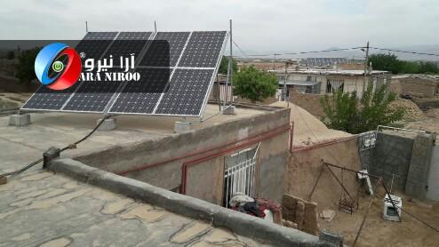 احداث نیروگاه خورشیدی در شهرستان دامغان