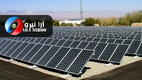 اولین نیروگاه خورشیدی در کرمانشاه،