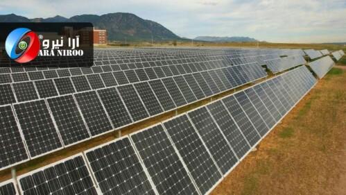 تولید برق خورشیدی ماهانه ۲.۵ میلیون درآمد دارد