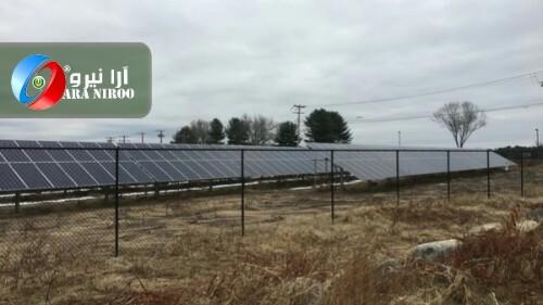 نیروگاه خورشیدی ۱۰ مگاواتی در شهرستان نور ماهان