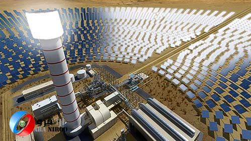 بزرگترین نیروگاه خورشیدی در دبی